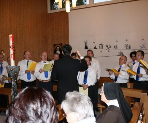 Kirchenauftritt 2008