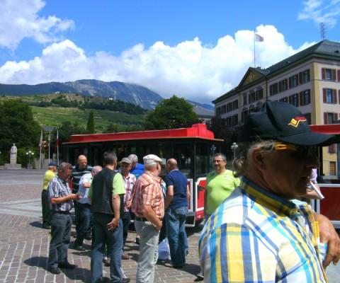 Ausflug Sion 2013