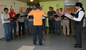 Auftritt Männerchor im Altersheim Feldhof 2014